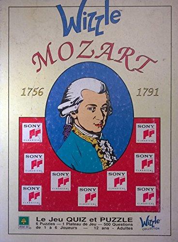 Wizzle Mozart - 1756-1791 - jeu quiz et puzzle du bicentenaire - Sony Classical / Artichaut 1MW91001