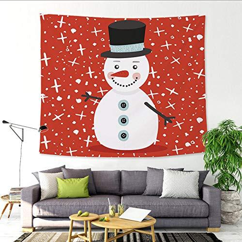 DDFHK Kerst tapijt festival bar school Kerst boom achtergrond doek sneeuwpop fawn opknoping doek kan worden aangepast