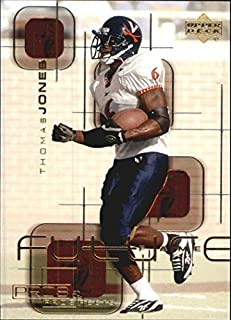 2000 Upper Deck Pros and Prospects Future Fame #FF8 Thomas Jones NFL Football Trading Card
