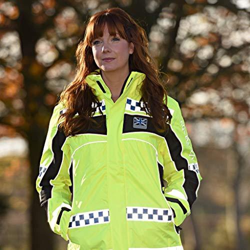 Equisafety Reversible Jacket, Accessori Equestri Unisex-Adulto, Polite-Giacca Reversibile Inverno, S