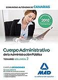 Cuerpo Administrativo de la Administración Pública de la Comunidad Autónoma de Canarias. Temario volumen 2