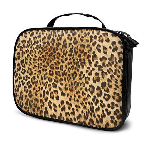 Sacs à cosmétiques pour les voyages des femmes, Étui à crayons camouflage imprimé léopard