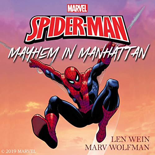 The Amazing Spider-Man: Mayhem in Manhattan cover art