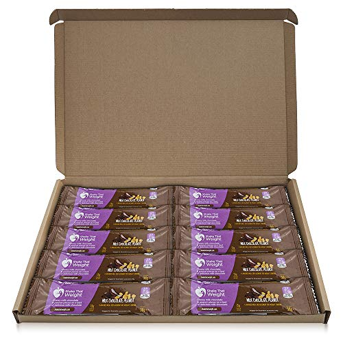 Shake That Weight Meal Replacement Bar - Chocolate Peanut - 10 Bars - Meal Replacement Plan for...