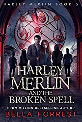 Cover of Harley Merlin and the Broken Spell