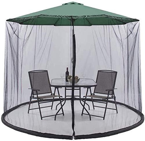 DXYSS Paraguas Mosquitera para Gazebo – Jardín Exterior Jardín Mosquito Cubierta Paraguas Nets for Interiores y Exteriores, Camping 300 * 230cm