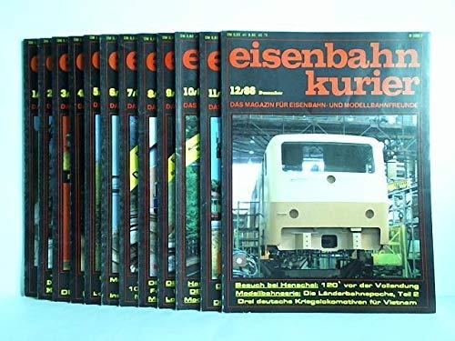 Das Magazin für Eisenbahn- und Modellbahnfreunde - 21. Jahrgang 1986, Heft 1 bis 12