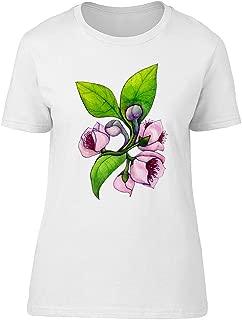 Figs Flower Plants Tee Women's