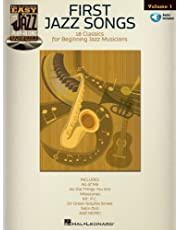 First Jazz Songs Songbook: Easy Jazz Play-Along Volume 1 (English Edition)