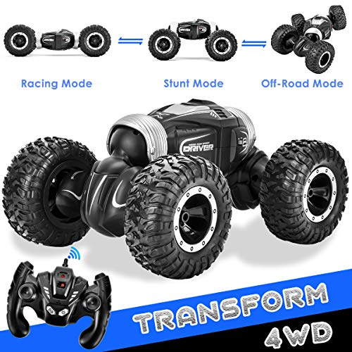 Rainbrace RC Car Offroad Remote Control Cars for Boys, 1/16 4WD High Speed RC Trucks 4x4 Remote Control Truck Vehicles RC Buggy Electric RC Racing Car Boys Toys for 6-12 Years Old Boys Kids Gift