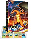 Álbum archivador portatarjetas compatible con tarjetas Pokemon V, archivador portátil para tarjetas coleccionables, 24 páginas con capacidad para 432 tarjetas (432P-9)