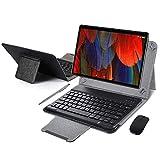 Tablet 10 Pulgadas 4GB de RAM 64GB de ROM Android 9.0 Certificado por Google GMS Tablet PC Buenas Batería 8500mAh Quad Core Dual SIM 8MP Cámara Netflix WiFi Type-C Bluetooth GPS OTG(Negro)