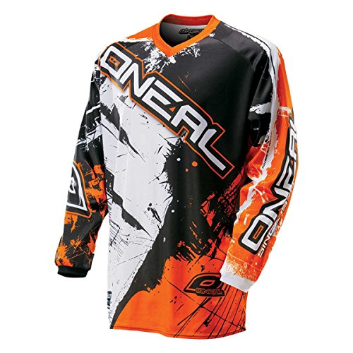 O'Neal Element Kinder MX Jersey Shocker orange Motocross Enduro Cross Motorrad Downhill Shirt, 0025S-40, Größe L
