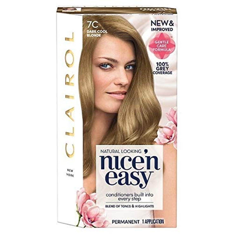 フォーカス蘇生するスタイル[Nice'n Easy] Nice'N簡単7Cは暗く涼しいブロンド - Nice'n Easy 7C Dark Cool Blonde [並行輸入品]