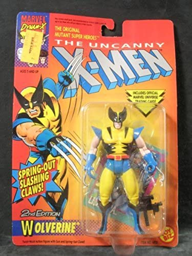 X-Hommes Action Figures - Wolverine (Second Edition) by Toy Biz