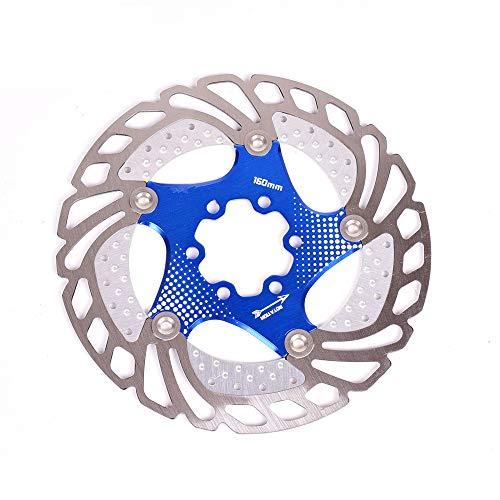 Accesorios deportivos Rotor de freno de disco flotante 6 pernos Aleación de...