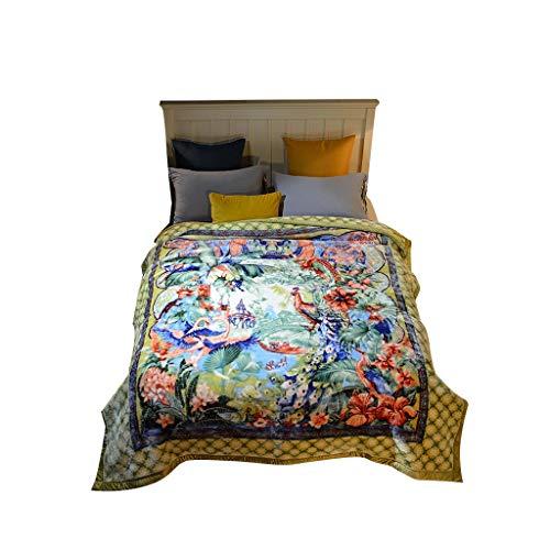Soft Throw Blanket Sherpa Blanket Thicken Keep Warm Wedding Quilt Winter Double Layer Cloud Blanket Throw Blanket Chihen