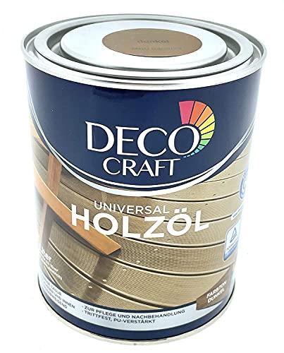 Deco Craft Holzöl Pflegeöl Öl für Holz für Außenbereich (Mittel)