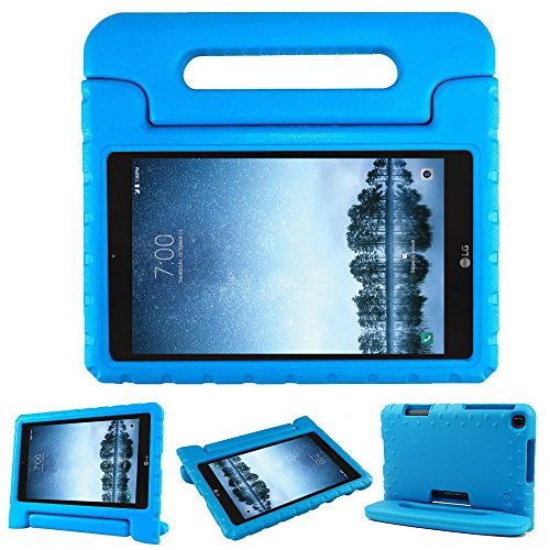 Bolete Case for LG G Pad F2 8.0 Sprint LK460, Kids Friendly Ultra Light Weight Shock Proof Super Protective Cover Handle Stand Case for LG GPad F2 8.0 Sprint Model LK460 8-Inch Android Tablet, Blue