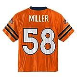 Von Miller Denver Broncos #58 Orange Youth Home Player Jersey (Small 8)