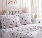 Kute Kids Super Soft Pillowcase Set - Made with Special Designs and Characters, Includes Pillowcase(s); Available in Twin, Full & Queen Size (2-Pack Pillowcases, Ballerina)