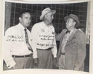 Ty Cobb Autographed Signature Photo 11/10/1955 - JSA Certified Authentic