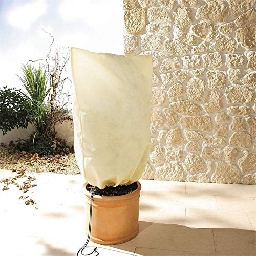 Winter Warm Plant Cover Practical Plant Protecting Bag Season Extension and Frost Protection for Tree & Shrub & Yard & Garden (39' x 31')