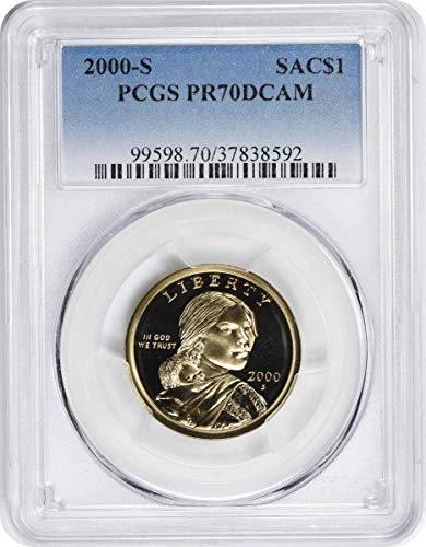 2000 S Sacagawea Dollar PR70DCAM PCGS
