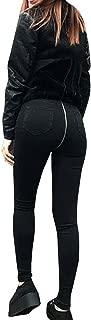 Women High Waisted Jeans,Lelili Sexy Back Zipper Stretch Butt Push Up Slim Fit Pencil Pants Denim Trousers