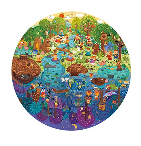 Puzzle de niños de aventura en el bosque, rompecabezas de juguetes cognitivos, juguetes educativos, bebés y niños, regalos para el Día del Niño, 150 PCS