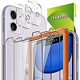 ②Realizzato in vetro temperato per iPhone 11 6,1 pollici di alta qualità con bordi arrotondati di 0,33 mm di spessore.