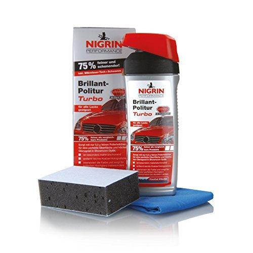 NIGRIN 72960 Performance Brillant-Politur TURBO 500 ml