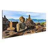 Bild Bilder auf Leinwand Tempel Borobudur Buddist in der