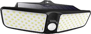Tomshine 100 LED Wall Lamp Solar Powered IP65 Motion Sensor