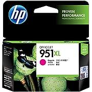 HP 951XL Cartouche d'Encre Magenta Grande Capacité Authentique pour HP OfficeJet Pro 251dw/276dw/8100/8600 (CN047AE)