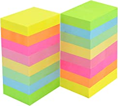 baotongle 32 Pads Mini Sticky Notes Super Sticky Notes Self-Stick Notes for Study, Works, Daily Life 1.5 x 2 in, 100 Sheets/Pad, 8 Colors (8Color, 1.5x2'')