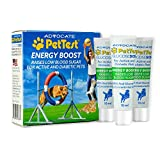 Energy Boost Glucose SOS for Pets Instantly Increases Low Blood Sugar. 3x10ml Tubes. Fast Acting, Meat Flavoured, Rapid Recovery for Active or Diabetic Dogs & Cats. PetTest Diabetic pet Supplies.