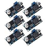 Paquete de 6 convertidores LM2596 DC a DC Buck, Sicai 3.0-40V a 1.5-35V Módulo reductor de la fuente de alimentación