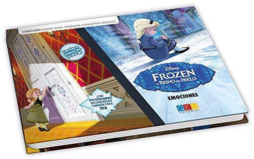Frozen. El reino del hielo - Libro juego / Editorial GEU/ A partir de 6 años/ Trabaja las emociones / Identifica expresiones corporales / Incluye pictogramas