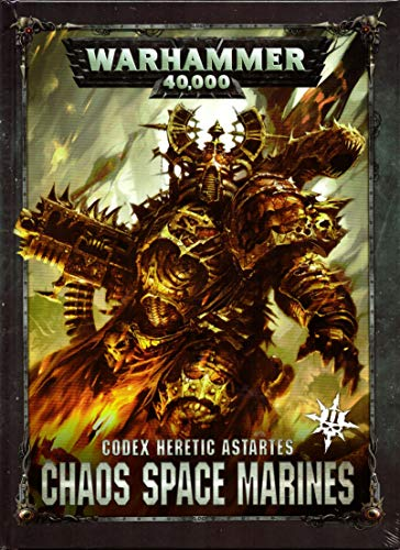 Unbekannt Games Workshop Warhammer 40k Codex Heretic Astartes Chaos Space Marines 2nd Ed. 2019