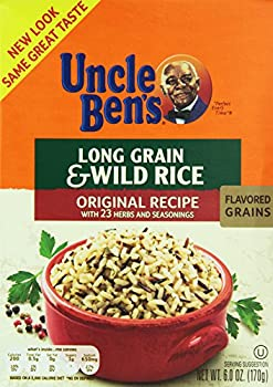 Uncle Ben s Long Grain and Wild Rice Original Recipe Value Pack 6 Count Net Wt 36 ounce