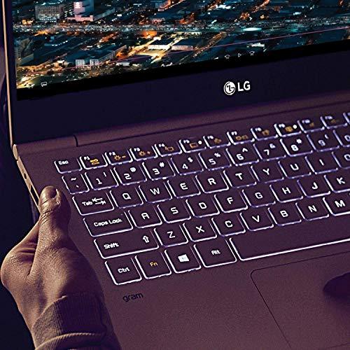 LG Gram Thin and Light Laptop 17in Intel i7-8565U 16GB RAM 256GB SSD Windows 10 (Renewed)