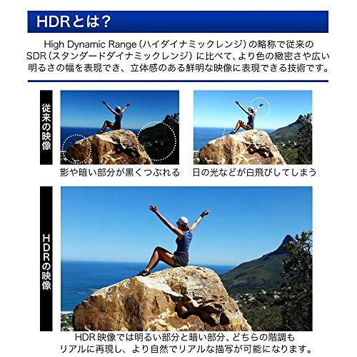 『テレビ 65型 65インチ 4K対応 液晶テレビ 地上・BS・110度CS 外付けHDD録画機能対応 裏番組録画機能搭載 HDR対応 ダブルチューナー メーカー1000日保証 MAXZEN JU65SK04 【代引き不可】』の7枚目の画像