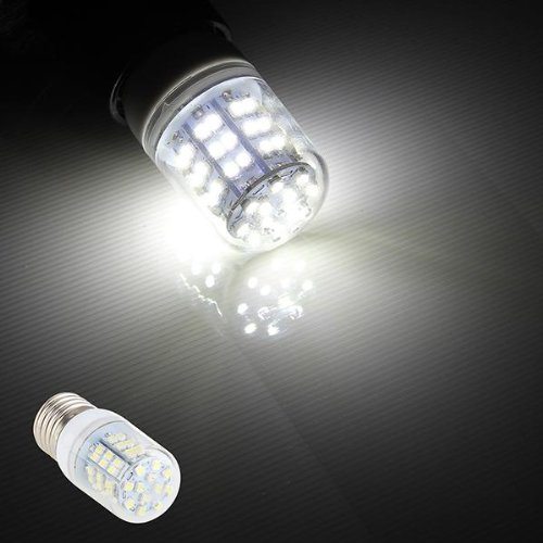 Ecloud Shop E27 5W 60 LED 3528 SMD verlichting lamp lamp lamp armatuur steeklampen wit