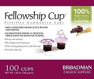 Fellowship Cup (Prefilled Communion Cup) x 100 [081407011585] by Broadman Holman