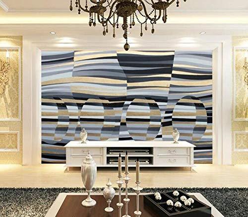 Wallpaper 3D Abstract Mosaic Photo Wallpaper Living Room Sofa Bedroom den Decoration Poster 150cmx105cm(59.1x41.3inch) PVC Wallpaper Wall Covering Wallpaper Non-Woven Fabric Wall Sticker