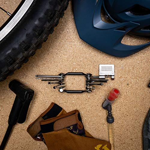 Sierra 12 in 1 Bike Multitool, Durable, Compact, Lightweight, Repair...