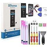 Xlhama - Batería de Alta Capacidad para iPhone 5, 1800 mAh, con Kit de desmontaje e Instrucciones (Idioma español no garantizado)