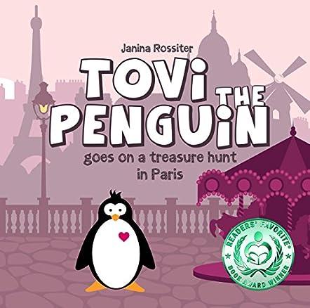Tovi the Penguin Goes on a Treasure Hunt in Paris
