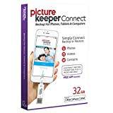 Picture Keeper CONNECT 32GB Portable Flash USB Backup and Storage Device Drive...